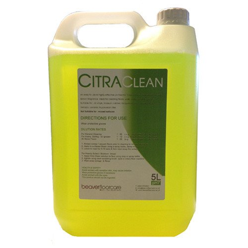 Citra Clean 5L Hard Floor Cleaner